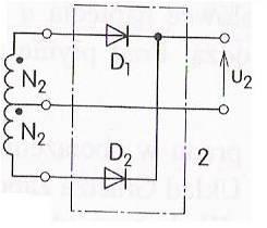 Transformator dwupołówkowy i najprostszy prostownik