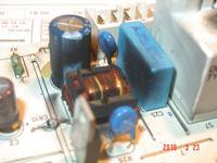 Pralka BOSCH B1WTV3602A/01 - spalony moduł, tr1 itp.