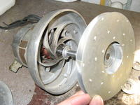 Odkurzacz Zelmer 500.3 (20-letni), złożenie silnika
