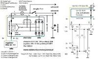 Schemat wewnętrzny alternatora A115-14V-43A