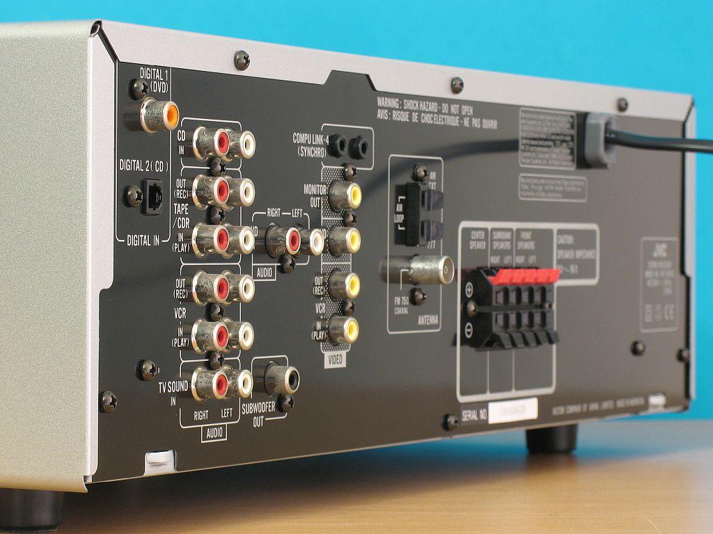 JVC RX-5042 + JAMO S406 - Jak pod��czy� dodatkow� ko�c�wk� mocy do kina.