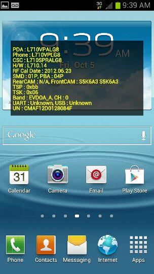 Samsung Galaxy SIII, I9300 - nie widzi karty sim