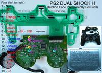 Dualshock 2 wymiana taśmy