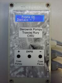 Sterownik pompy CWU - trzeciej rury.