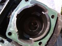 Husqvarna 343r została przegrzana brak kompresji