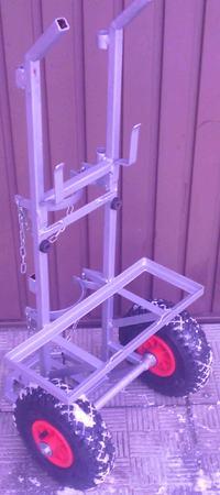 Wózek spawalniczy do tiga