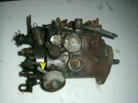 Peugeot J5 \\\'92 - 2,5TD Przeciek w elemencie przy pompie wtryskowej