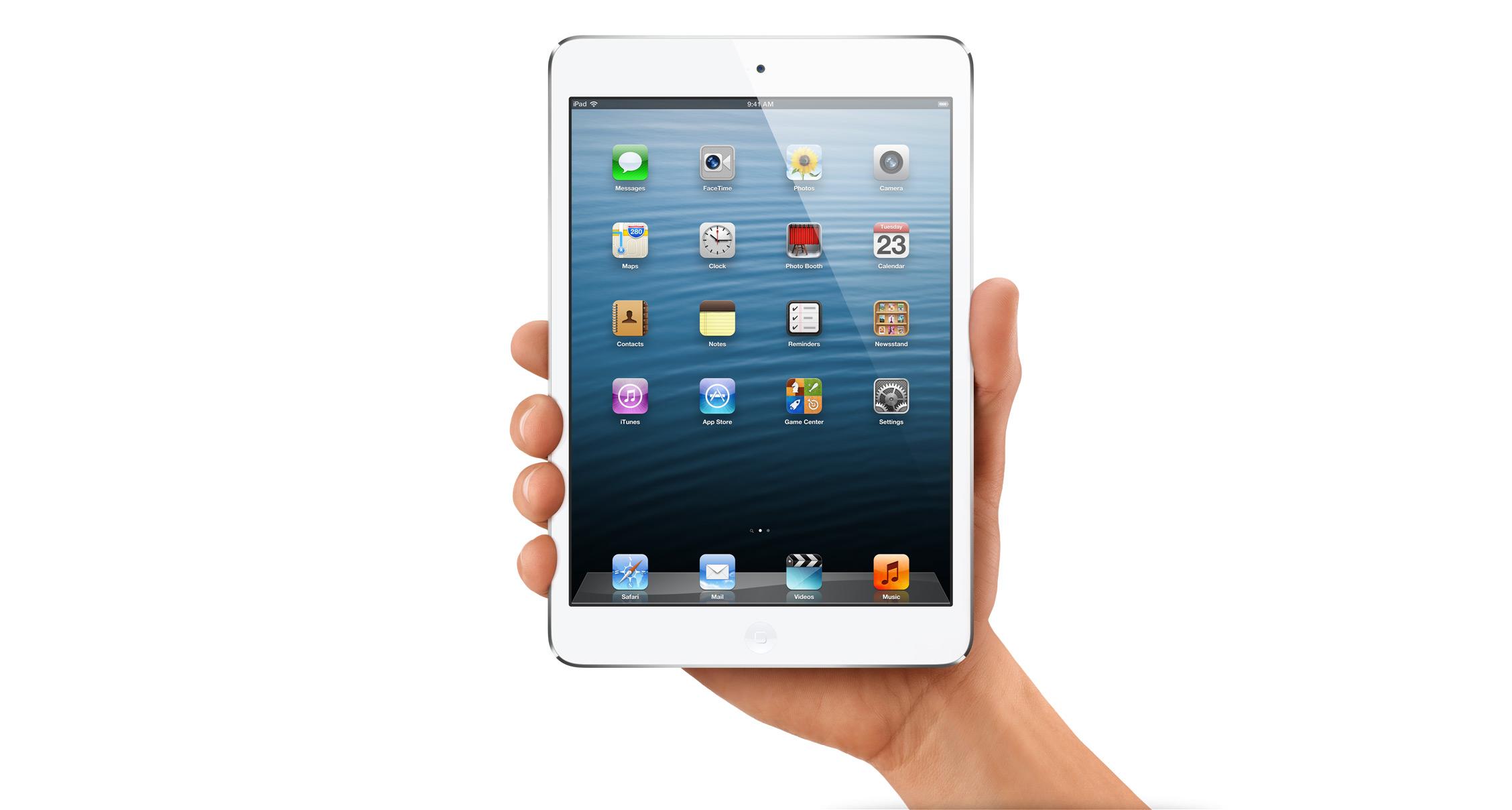 iPad Mini w zam�wieniach przedpremierowych
