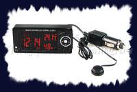 Termometr samochodowy - zasilanie i pod��czenie sond