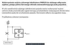 Skoda Fabia 1.4 16v - Lokalizator Teltonika FM B920 odcięcie zapłonu wyjściem cy