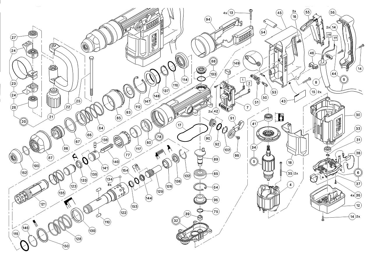 hilti te 22 parts diagram  hilti  free engine image for