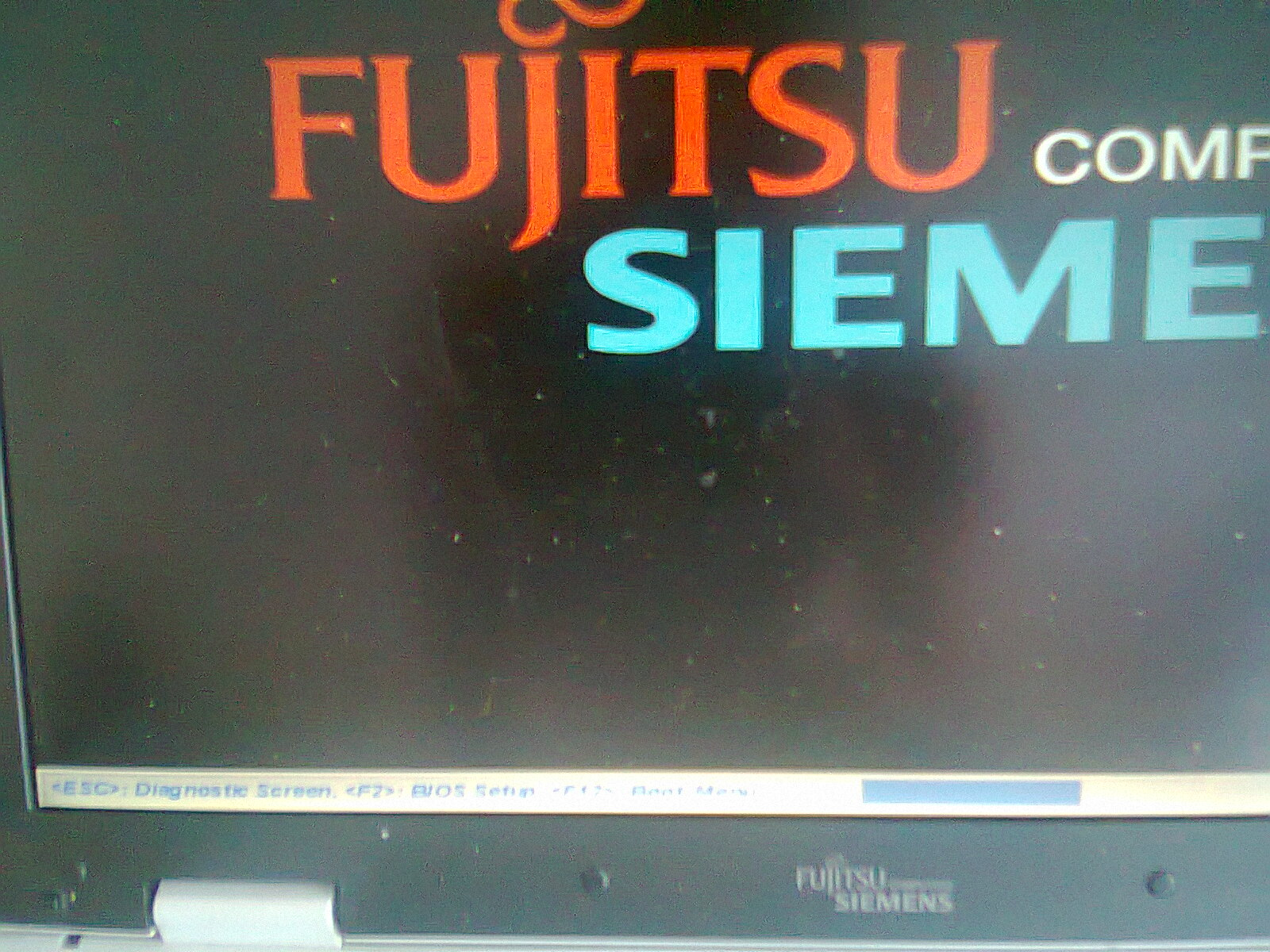 fujitsu  - HM321HI - Nie �aduje systemu b��d PXE-E61: Media test failure