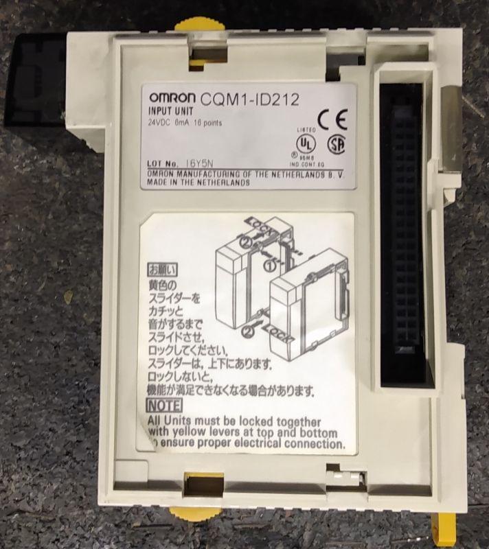 Omron CQM1 część 3, moduł wejść cyfrowych ID212