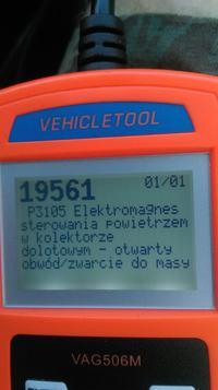 Golf 4 1.9TDI - Kontrolka ABS i ESP