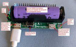 Pi-Zero-UpTime - zasilacz UPS z 14500 dla Raspberry Pi Zero