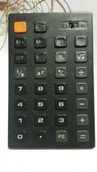Kalkulator programowalny z MC14009, z pamięcią ciągłą i fontannami