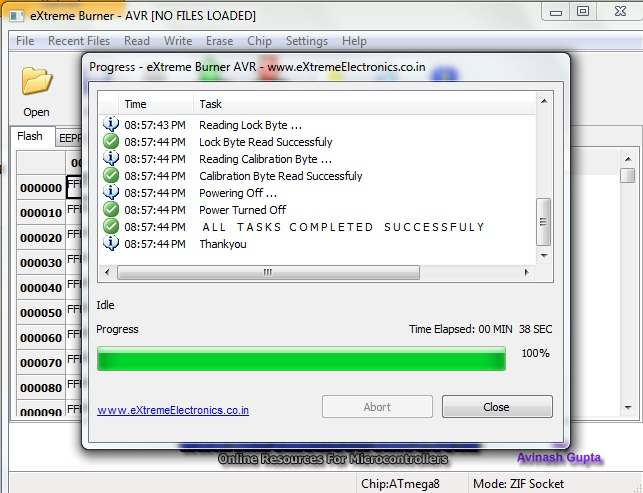 [atmega8] USBasp - nie mog� zapisa� programu do pami�ci.