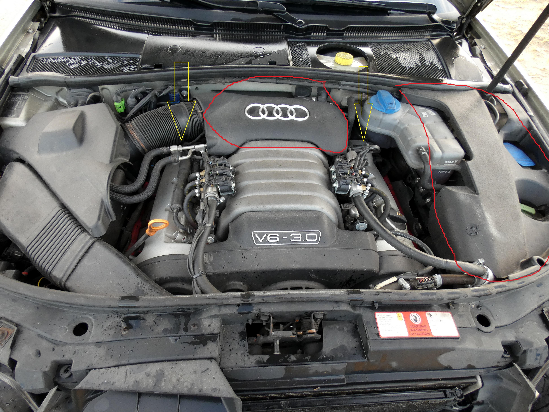 Zobacz Wątek Audi A6 C5 2003r 30 Benzynalpg Ucieka Płyn