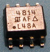 Tranzystor w układzie zasilania akumulatora