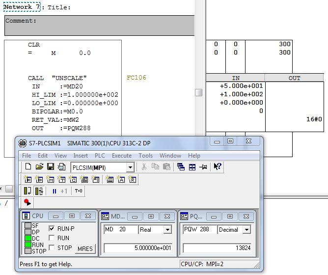 Modu� wej�� analogowych SM 334 siemens + potencjometr