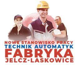 [Praca] Technik Utrzymania Ruchu: Automatyk (lokalizacja blisko Wrocławia)