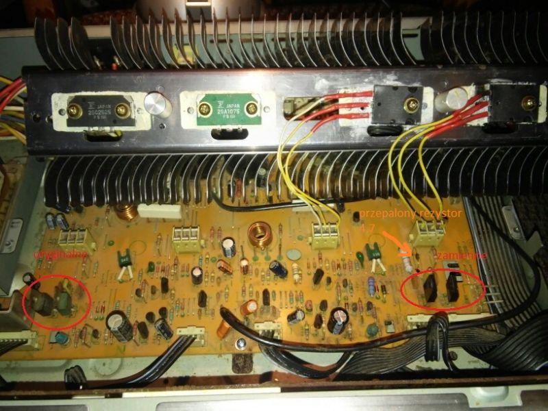 Pioneer sa 940 jeden nie działa jeden kanał