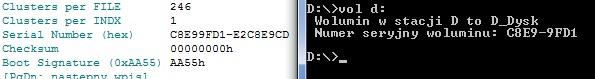 HDD - Odczytanie numeru usuni�tej partycji