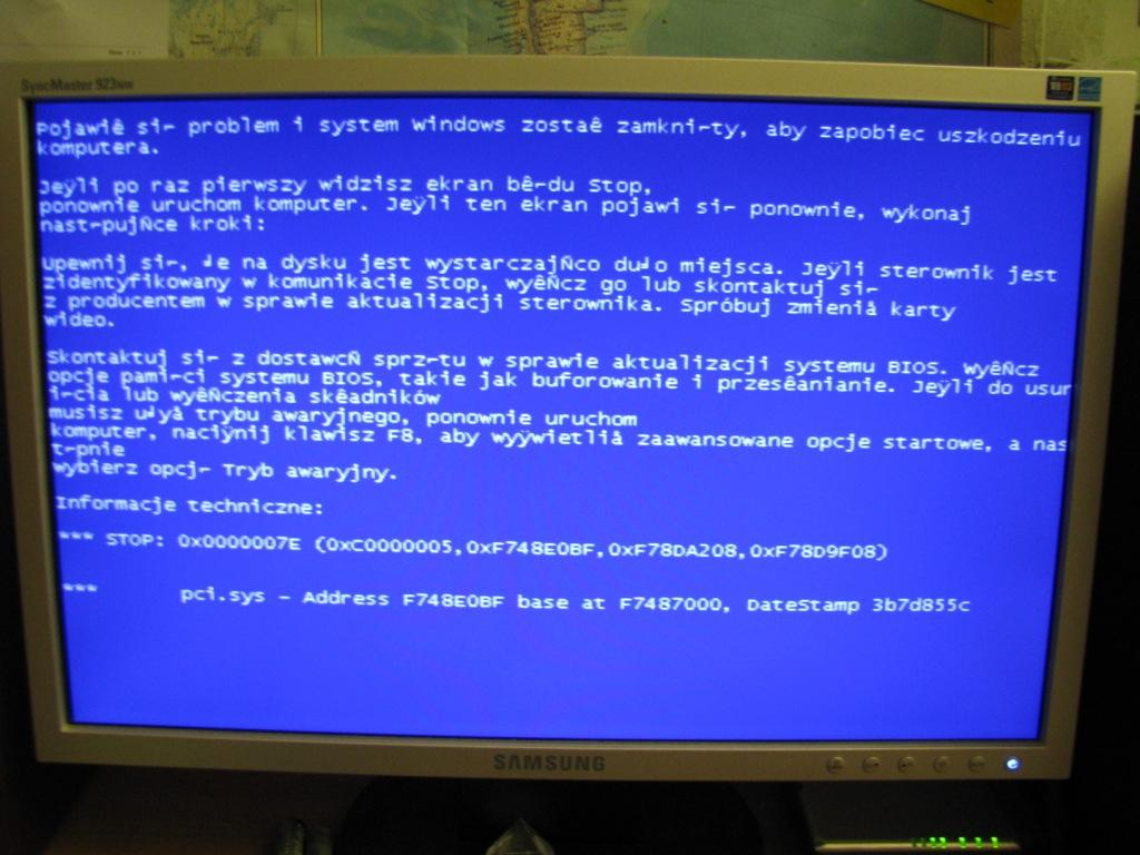 Msi cr630 reset biosu blue screen