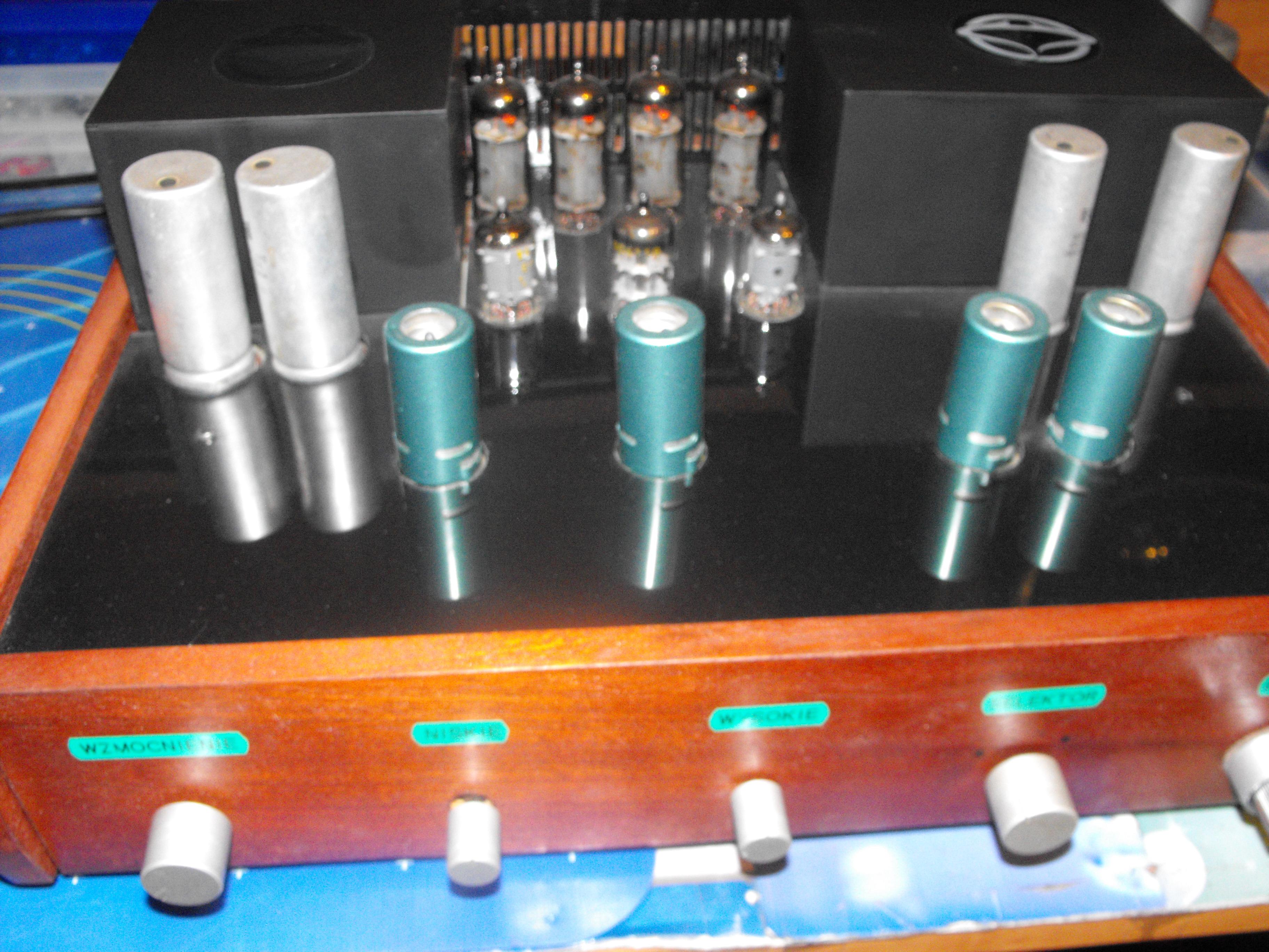 [Sprzedam] super wzmacniacz lampowy Fonica W600F przebudowany