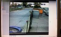 Pasy na rozdzielonym sygnale z kamerki CCTV