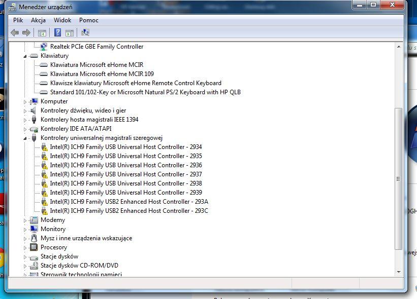 HP pavilion dv6 1306ew - Nie dzia�aj� porty USB po formacie.
