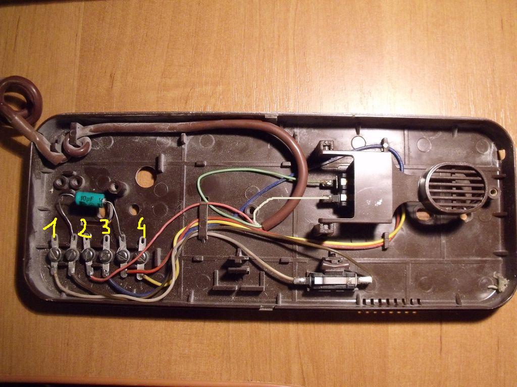 Pod��czenie domofonu WEKTA TK-6