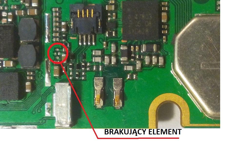 W Ultra Huawei P8 Lite brak zasięgu - prośba o identyfikację elementu XT11