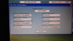 Golf IV 1.6 16V - Problem z adaptacja egr error