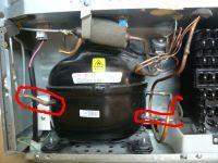 LG GB7043PVTZ - nie chłodzi/mrozi, błąd dH r, dźwięk, agregat i wentyl. działają
