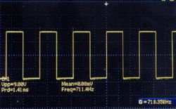 Mini generator warsztatowy, prostokąt, piła, trójkąt, sinus na NE555