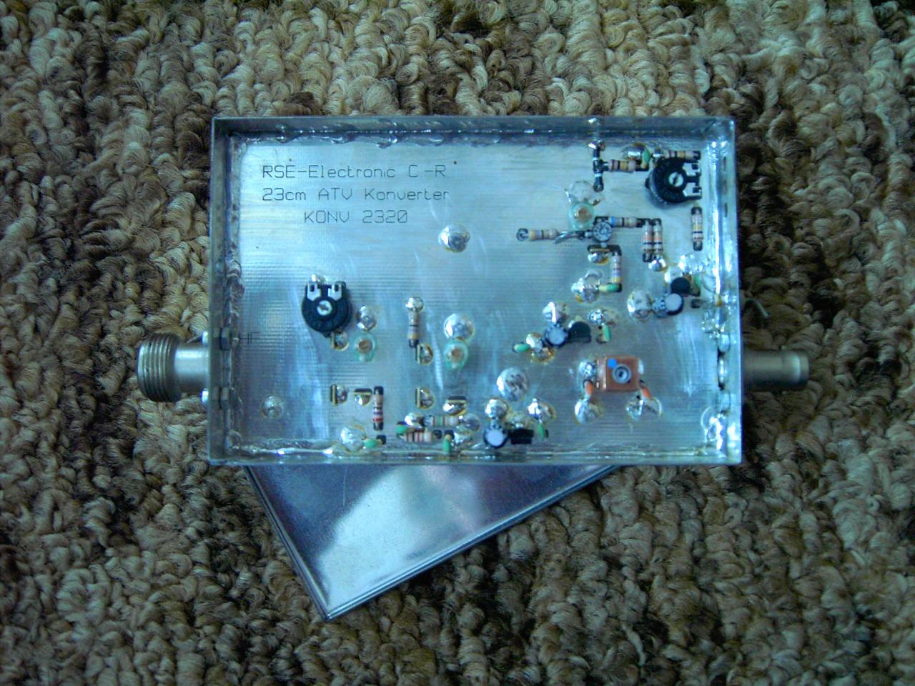 RSE-Electronic 23cm ATV Konverter KONV2320