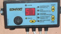 Sterownik pompy ciepła - komfort nie zmniejsza tak jak należy szybkość dmuchawy
