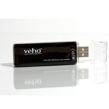 veho vsd-229 usb multi card re - czytnik (prawie) uszkodzony, tylko do odczytu