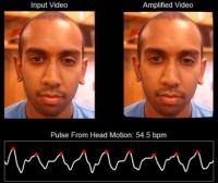 Badanie pulsu na podstawie nagrania z kamery