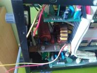 Spawarka inwertorowa VAMPIRE 2000 przełącznik trybu pracy (DEDRA desti 200 TIG)