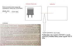 ADF4351 - Synteza PLL-podłączenie