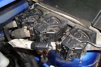 Peugeot Partner 2.0HDi 2003r RHY - Przewody od elektrozaworu EGR