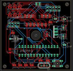 EAGLE - prośba o sprawdzenie poprawności projektu (Arduino -> własne PCB)