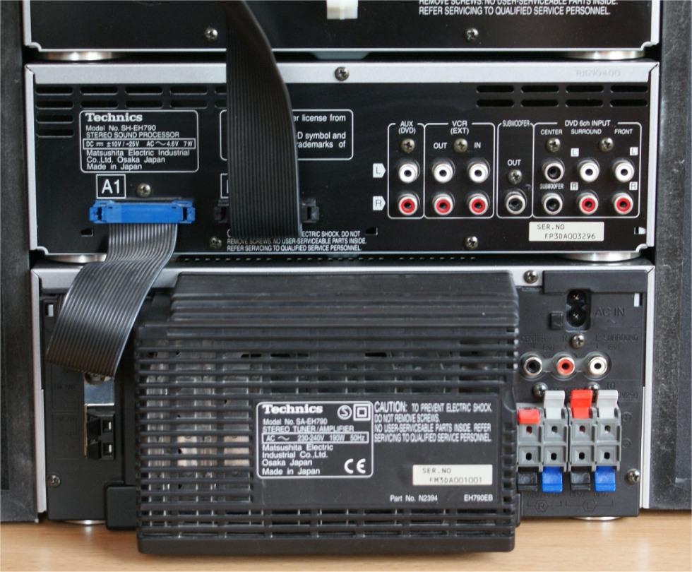 Wie�a Technics EH790 jako kino domowe