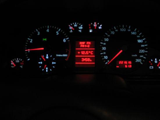 Audi A6 4B0 920 ... pod�wietlenie FIS