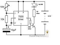 LED FIREFLY - błyskająca dioda