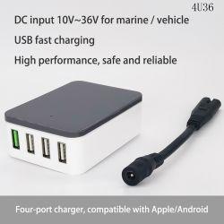 """""""Samochodowa"""" ładowarka USB (przetwornica step down) 4U36"""