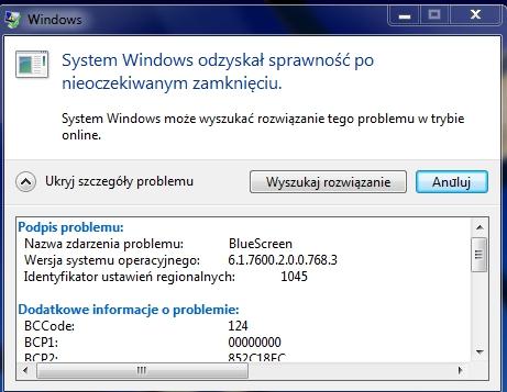 Zacinaj�cy si� ca�y komputer