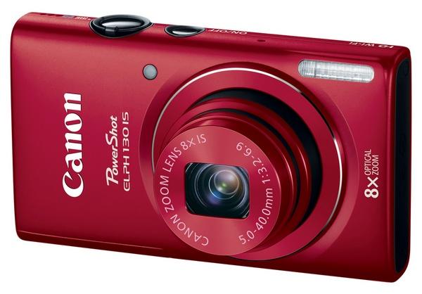 Canon Powershot Elph 130 - cyfrowy kompakt z 8x zoom, WiFi i 3-calowym ekranem